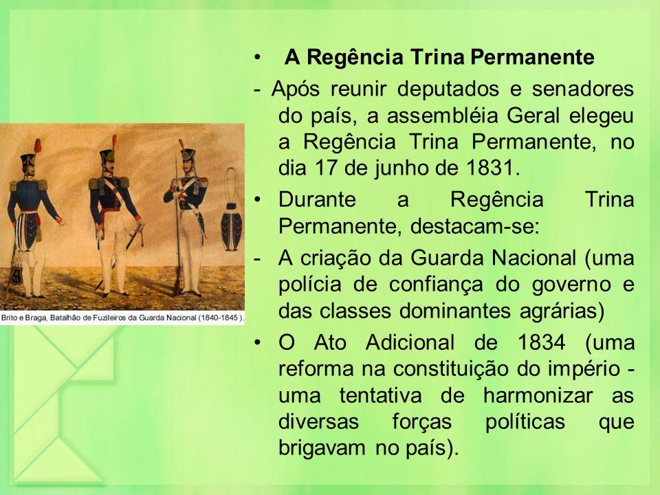 A Regência Trina Permanente