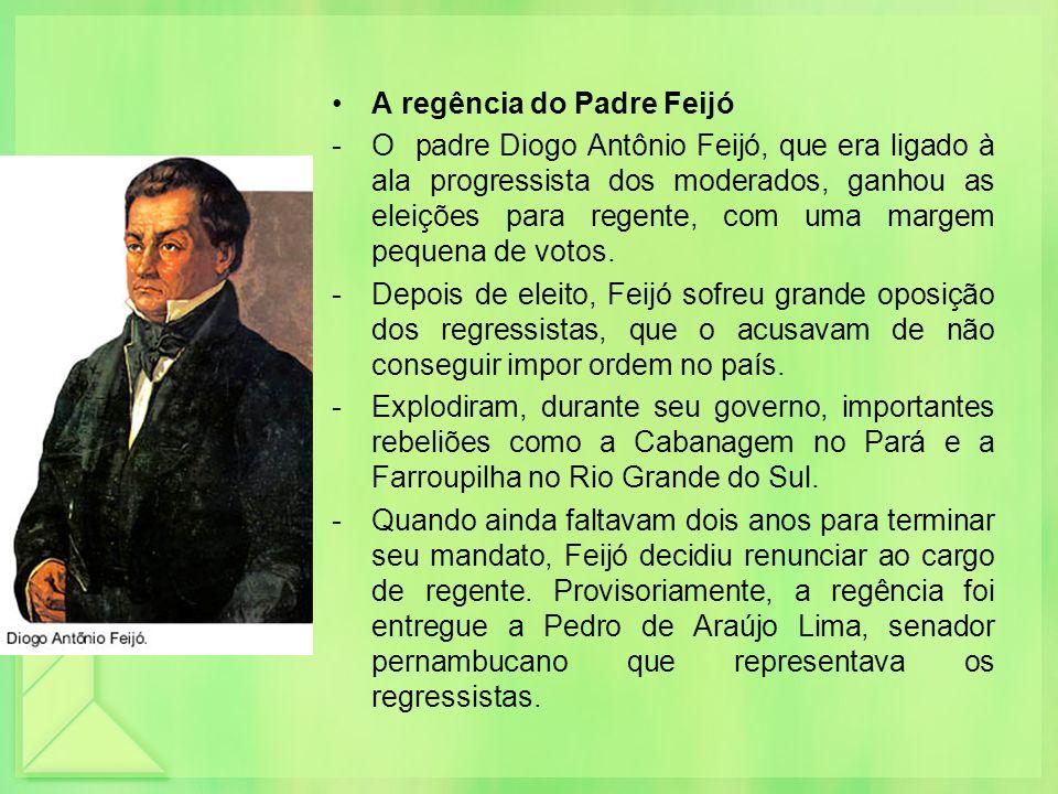 A regência do Padre Feijó