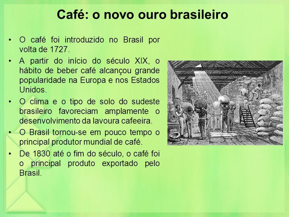 Café: o novo ouro brasileiro