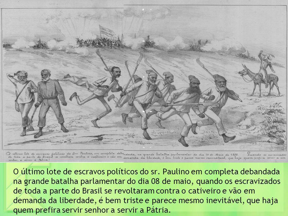 O último lote de escravos políticos do sr