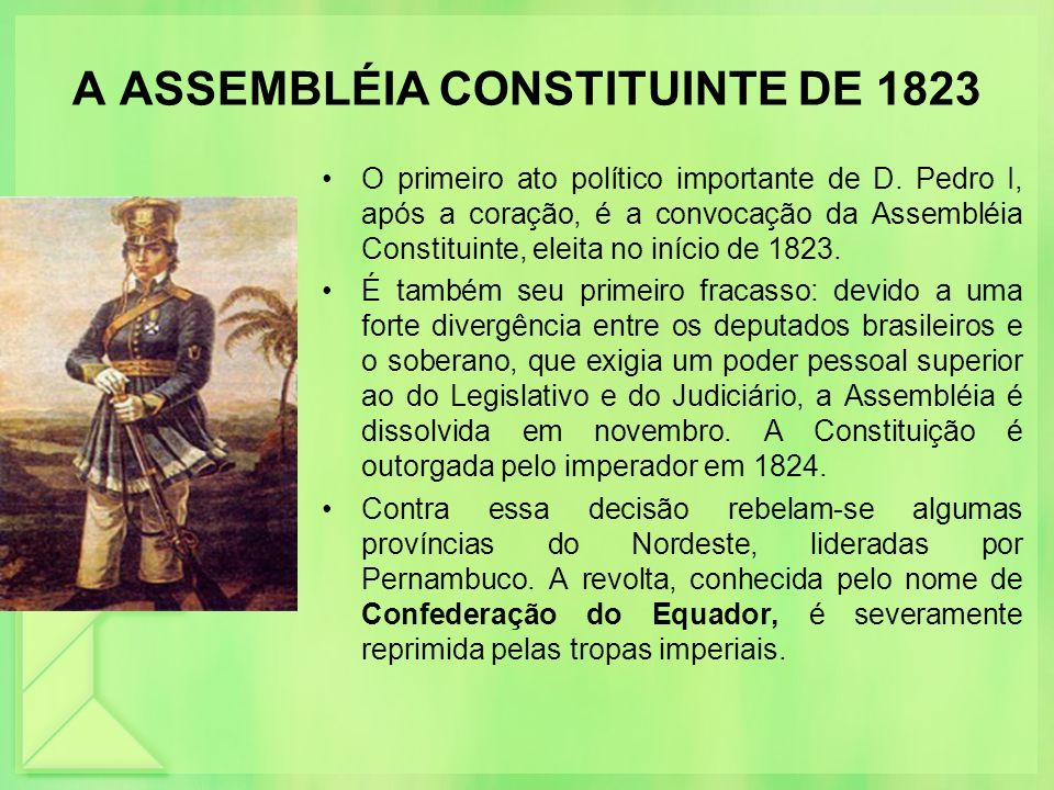 A ASSEMBLÉIA CONSTITUINTE DE 1823