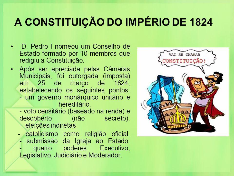 A CONSTITUIÇÃO DO IMPÉRIO DE 1824