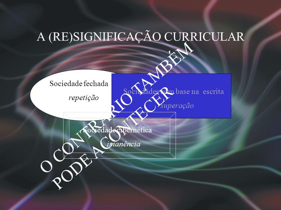 A (RE)SIGNIFICAÇÃO CURRICULAR