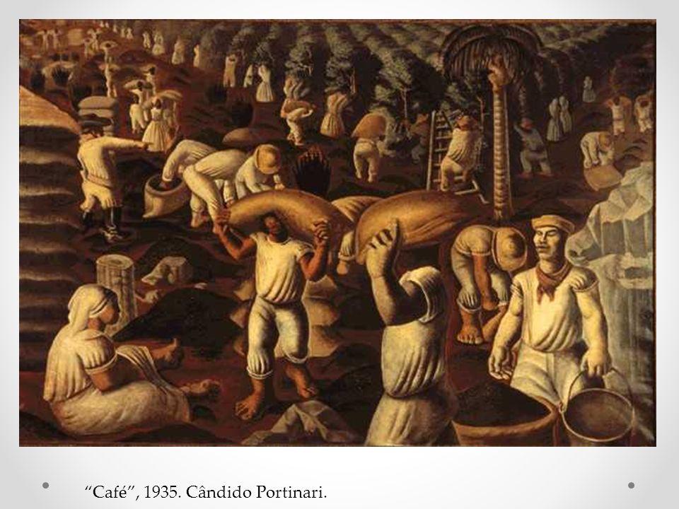 Café , 1935. Cândido Portinari.