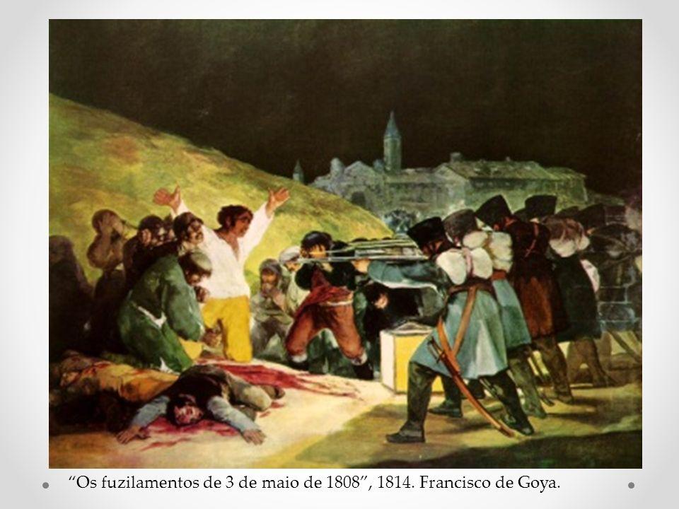 Os fuzilamentos de 3 de maio de 1808 , 1814. Francisco de Goya.