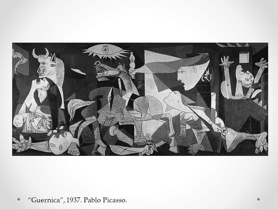 Guernica , 1937. Pablo Picasso.
