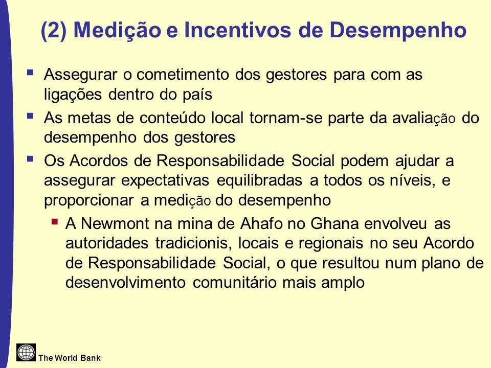 (2) Medição e Incentivos de Desempenho