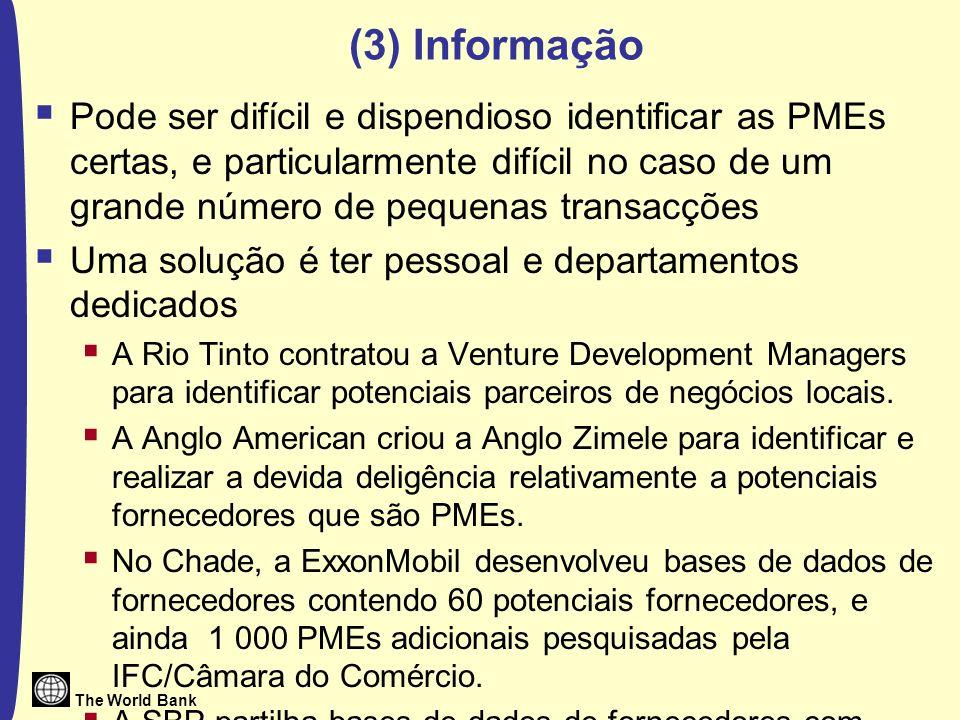 (3) Informação