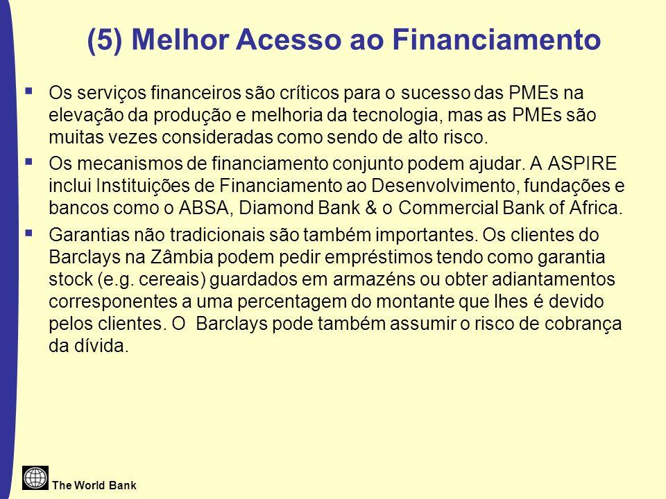 (5) Melhor Acesso ao Financiamento