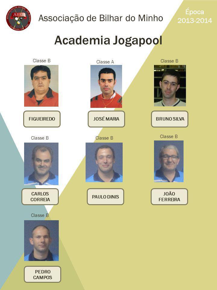 Academia Jogapool Associação de Bilhar do Minho Época 2013-2014