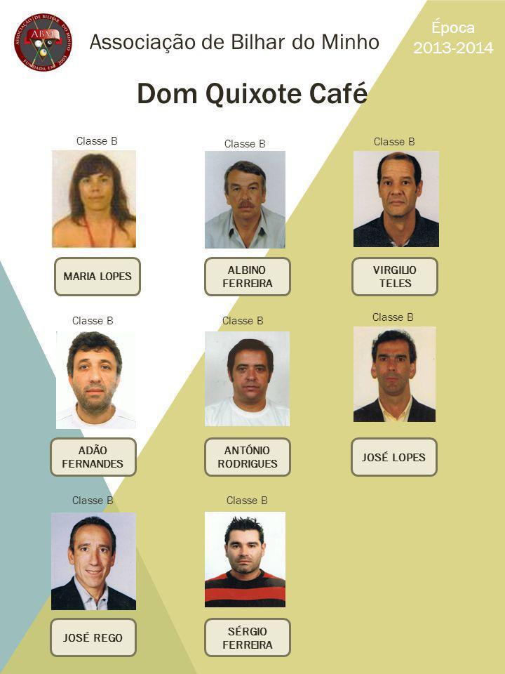 Dom Quixote Café Associação de Bilhar do Minho Época 2013-2014