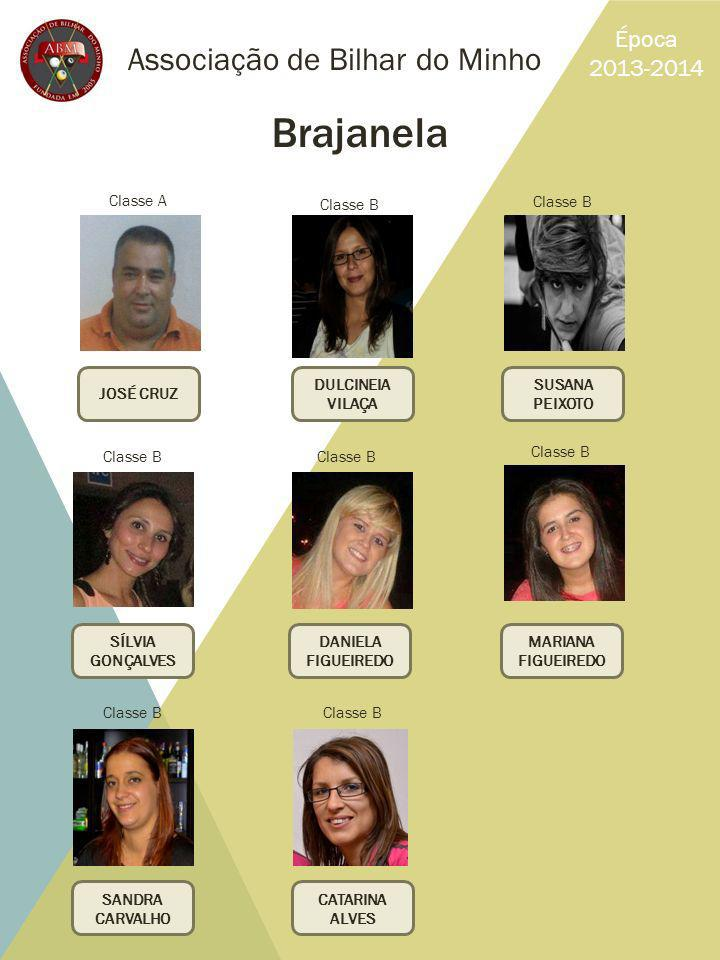 Brajanela Associação de Bilhar do Minho Época 2013-2014 Classe A