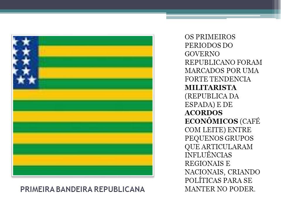 PRIMEIRA BANDEIRA REPUBLICANA