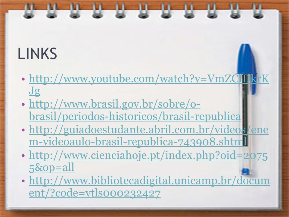 LINKS http://www.youtube.com/watch v=VmZCfDkrK Jg
