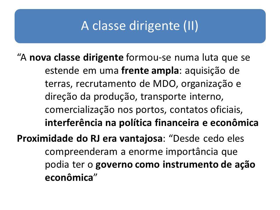 A classe dirigente (II)