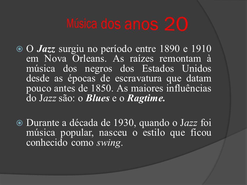 Música dos anos 20