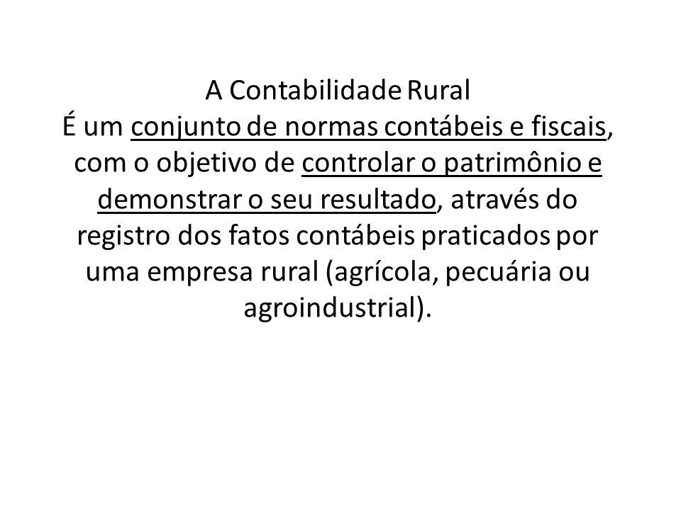 A Contabilidade Rural