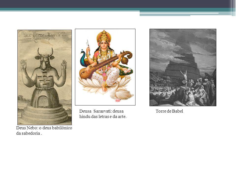 Deusa Sarasvati: deusa hindu das letras e da arte.