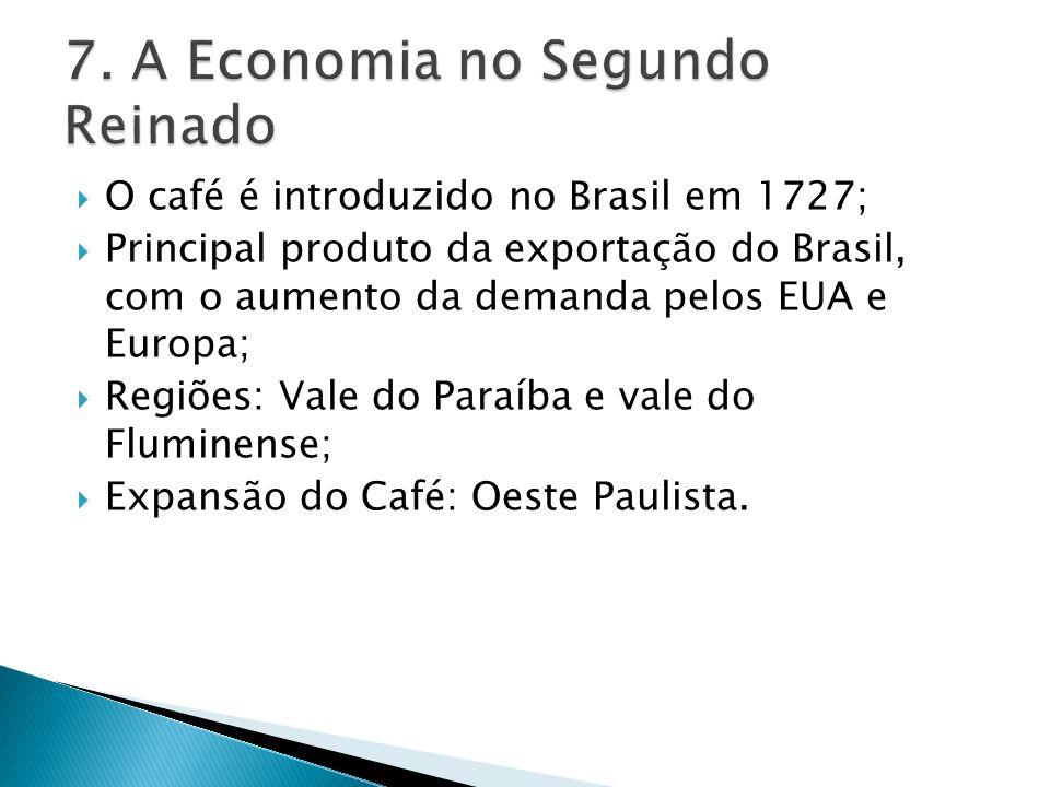 7. A Economia no Segundo Reinado