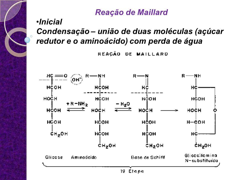 Reação de Maillard Inicial.