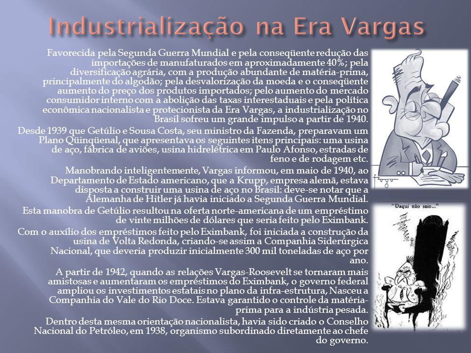Industrialização na Era Vargas