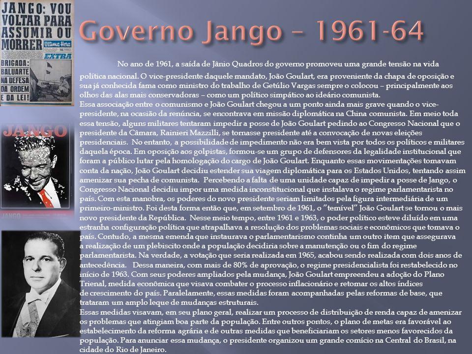 Governo Jango – 1961-64