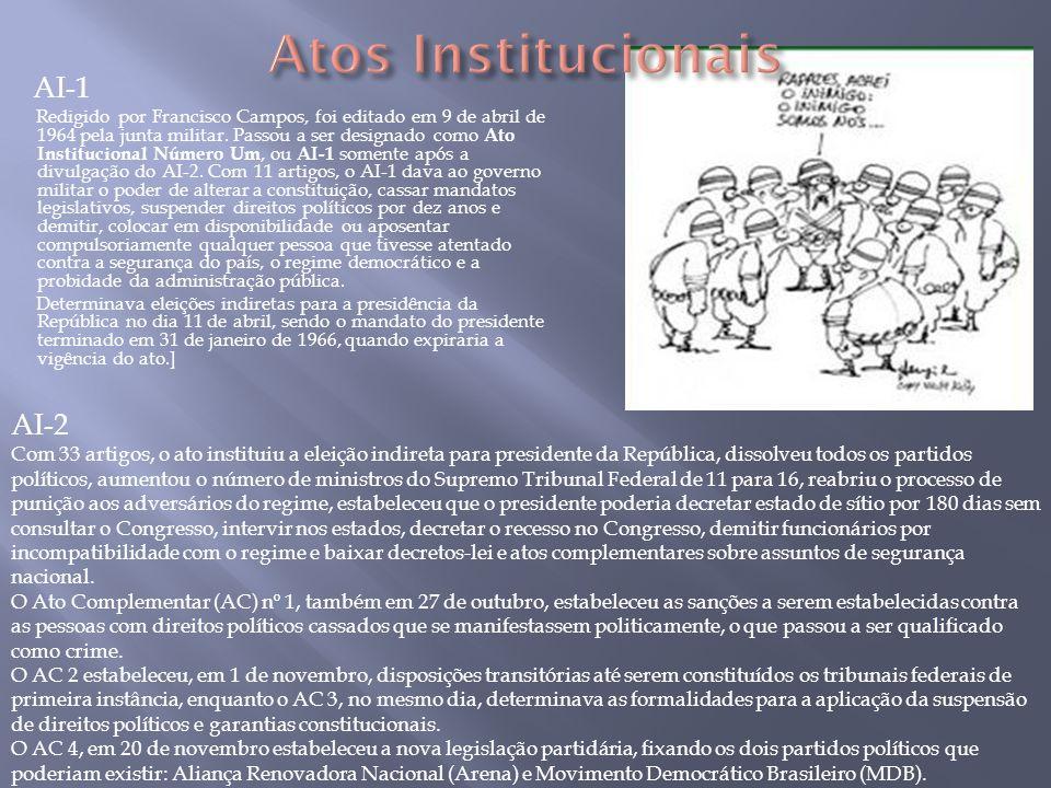 Atos Institucionais AI-1 AI-2