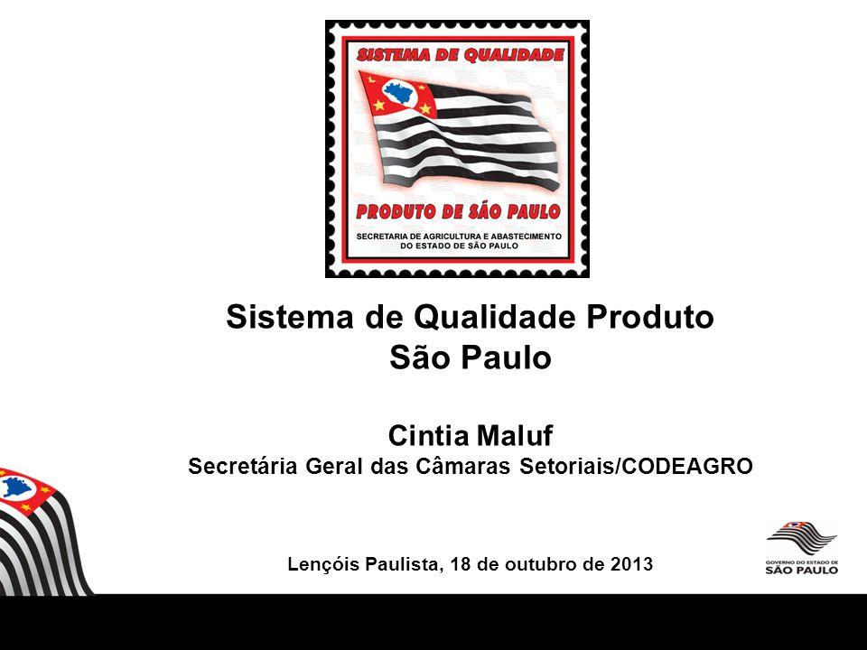 Sistema de Qualidade Produto São Paulo