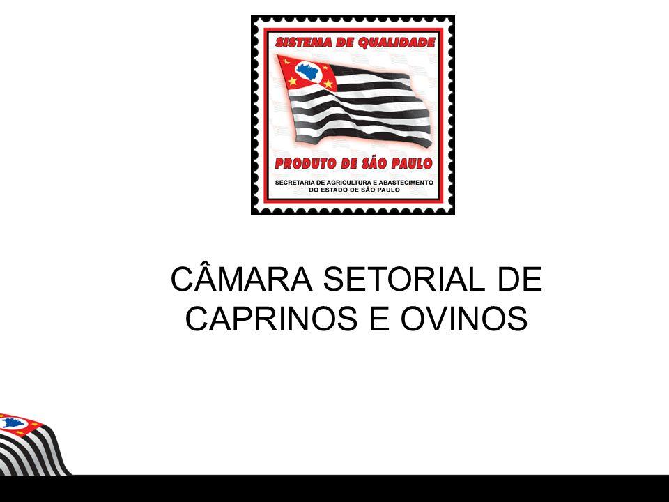 CÂMARA SETORIAL DE CAPRINOS E OVINOS