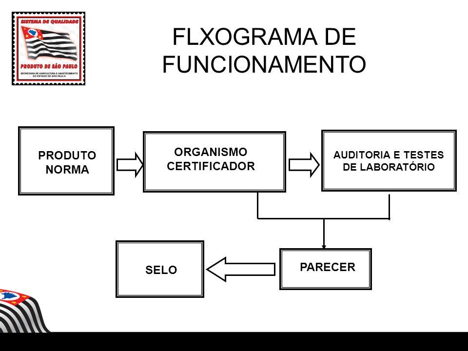 ORGANISMO CERTIFICADOR AUDITORIA E TESTES DE LABORATÓRIO