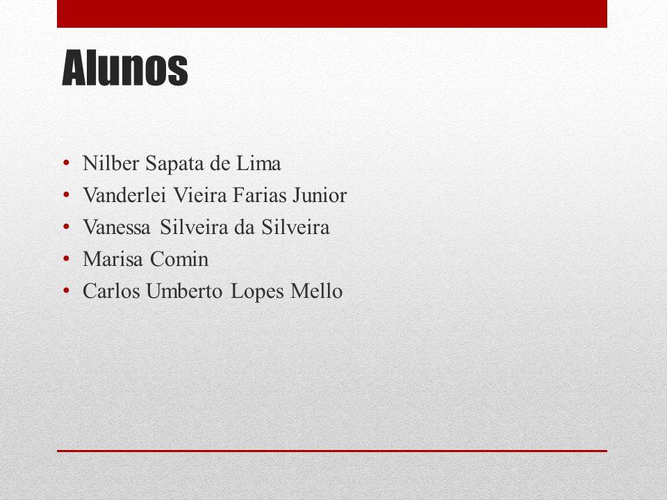 Alunos Nilber Sapata de Lima Vanderlei Vieira Farias Junior