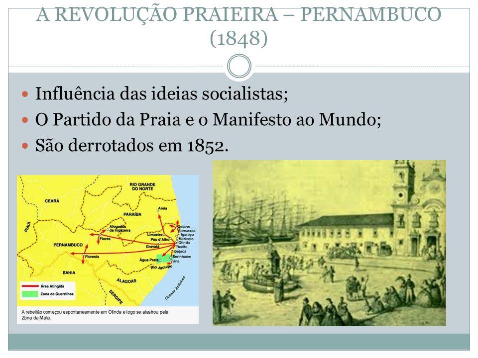 A REVOLUÇÃO PRAIEIRA – PERNAMBUCO (1848)