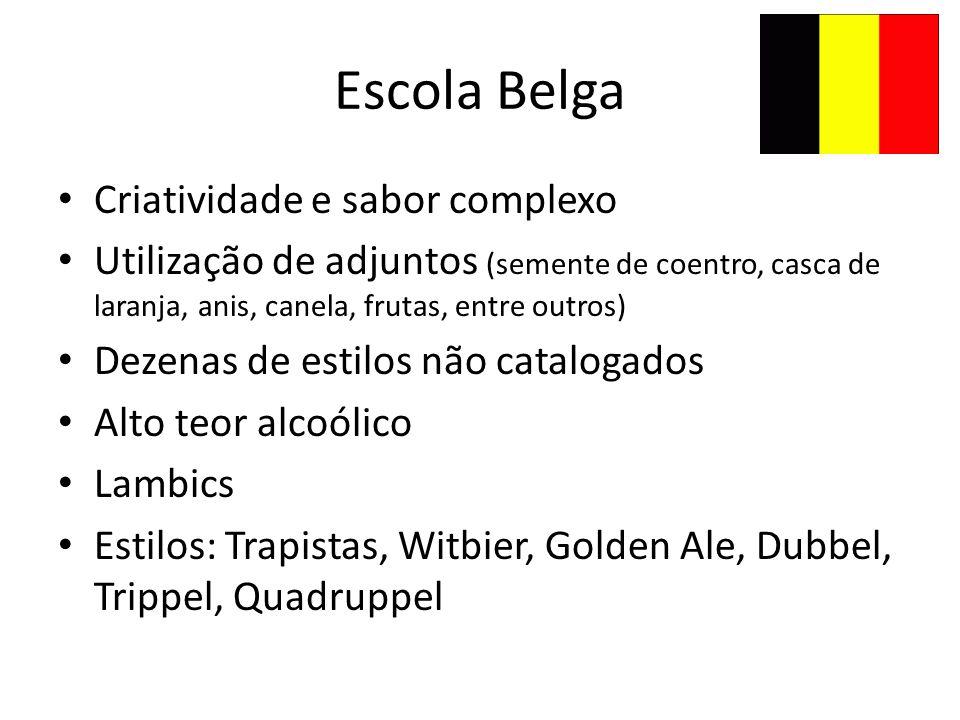 Escola Belga Criatividade e sabor complexo