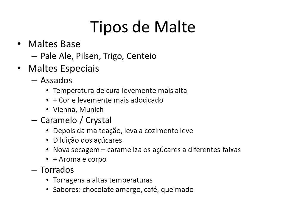 Tipos de Malte Maltes Base Maltes Especiais