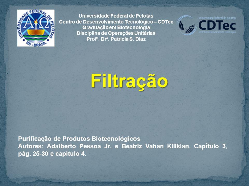 Filtração Purificação de Produtos Biotecnológicos