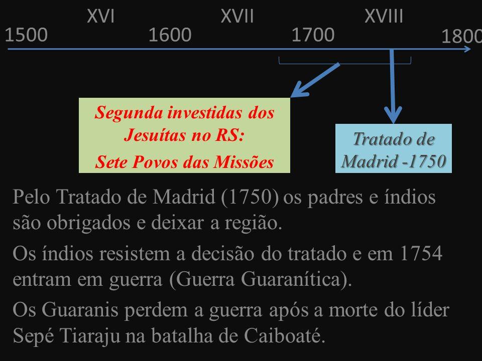 Segunda investidas dos Jesuítas no RS: