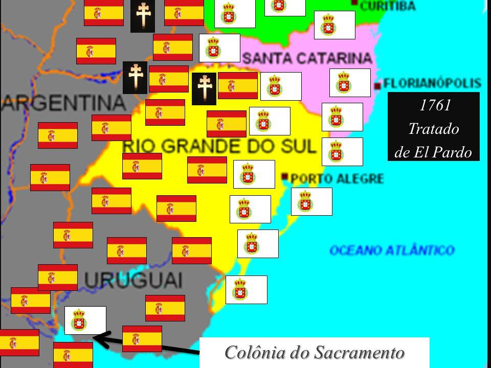 1761 Tratado de El Pardo Colônia do Sacramento