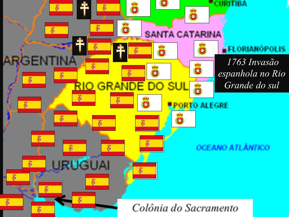 1763 Invasão espanhola no Rio Grande do sul