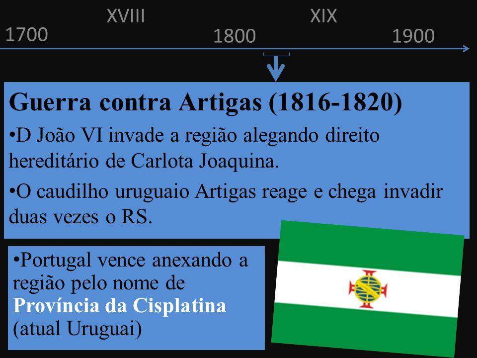 Guerra contra Artigas (1816-1820)