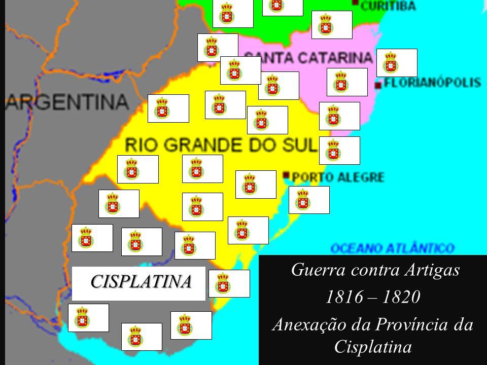 Anexação da Província da Cisplatina