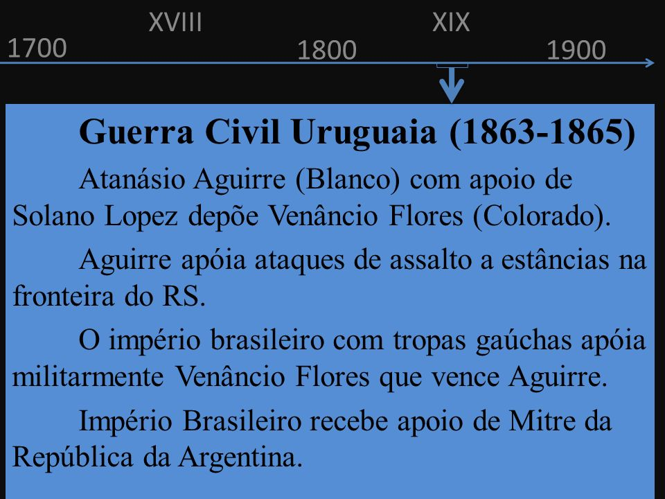 Guerra Civil Uruguaia (1863-1865)