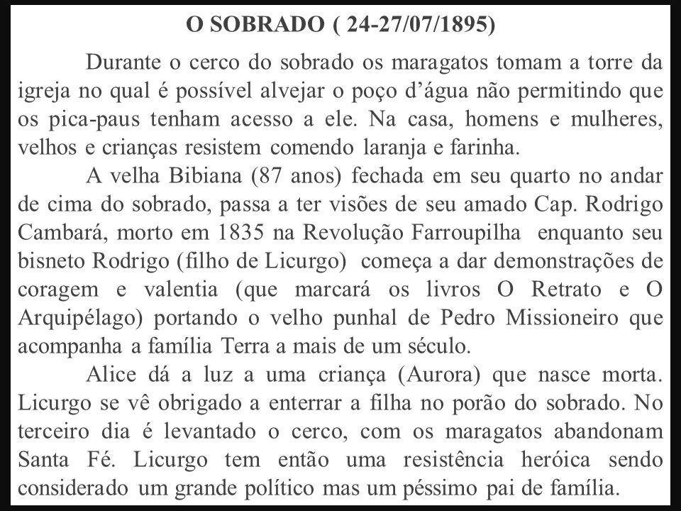 O SOBRADO ( 24-27/07/1895)