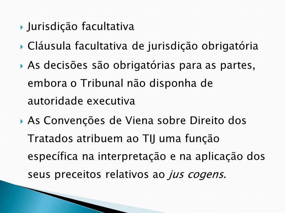 Jurisdição facultativa