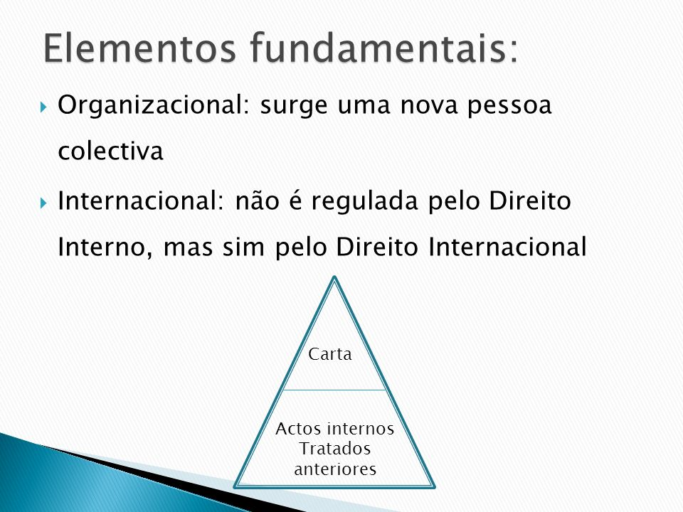 Elementos fundamentais: