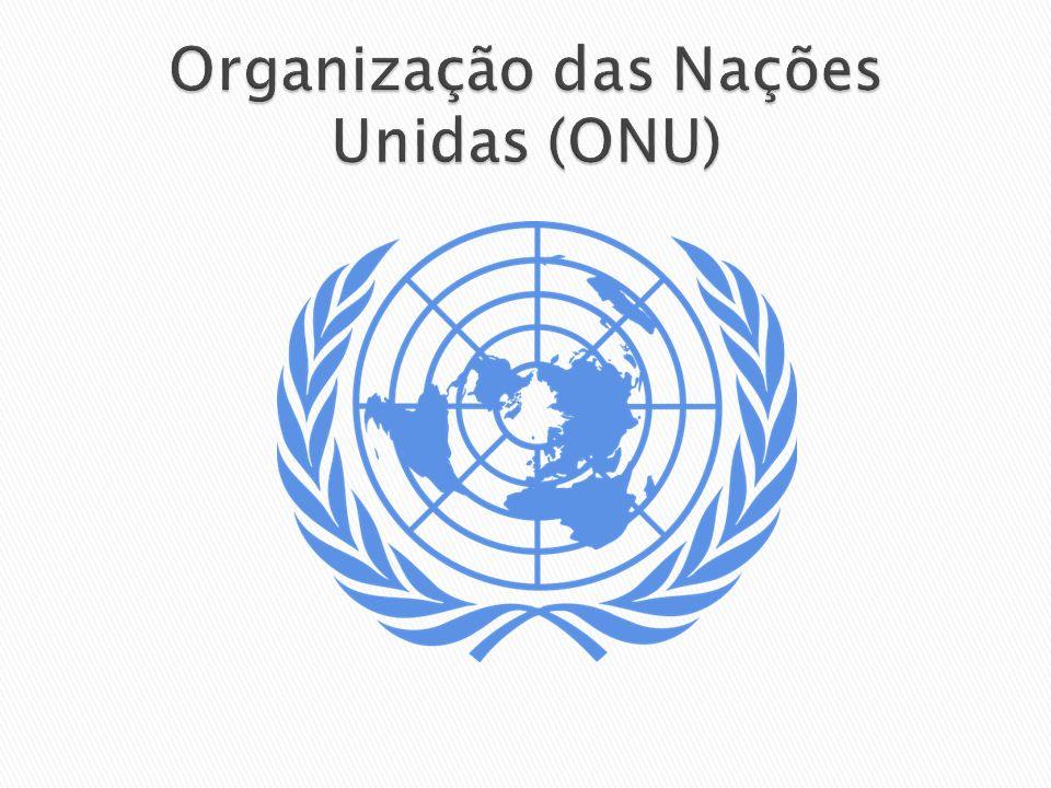 Organização das Nações Unidas (ONU)