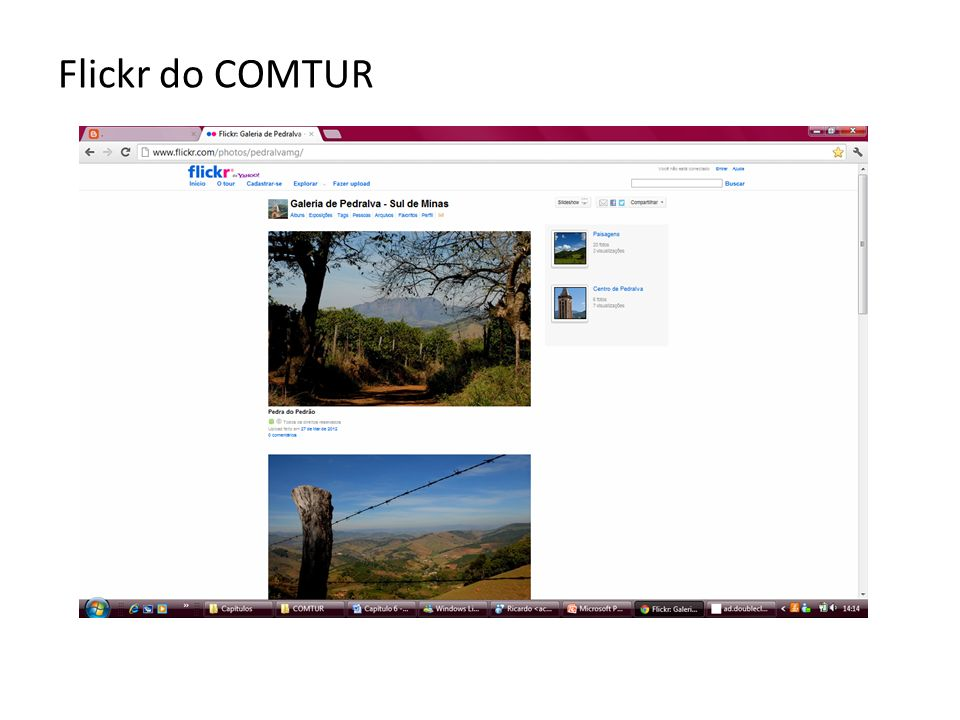 Flickr do COMTUR