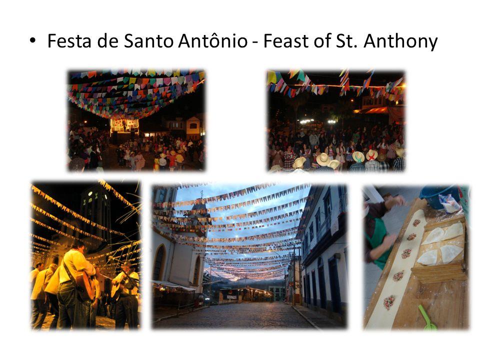 Festa de Santo Antônio - Feast of St. Anthony
