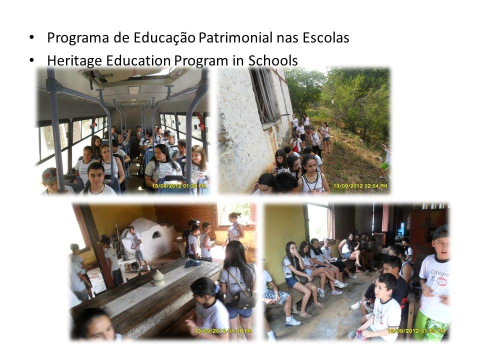 Programa de Educação Patrimonial nas Escolas