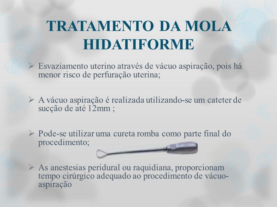 TRATAMENTO DA MOLA HIDATIFORME
