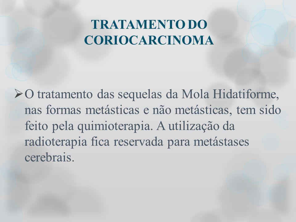 TRATAMENTO DO CORIOCARCINOMA